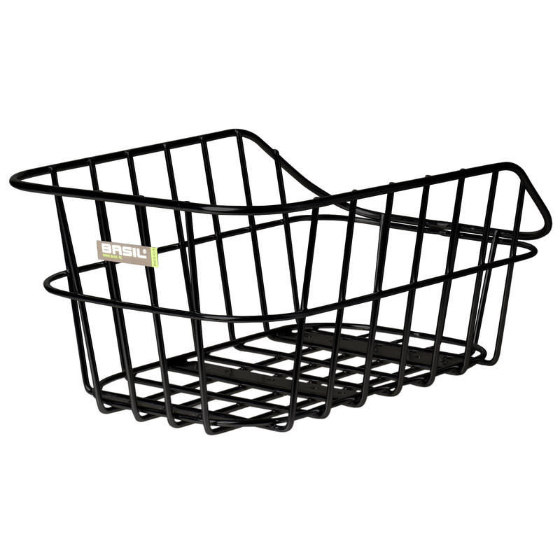 Cento Rear Alum Basket Black