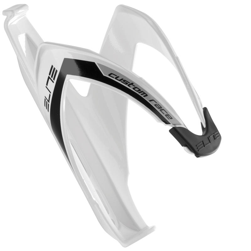 Custom Water Bottle Cage White/Black