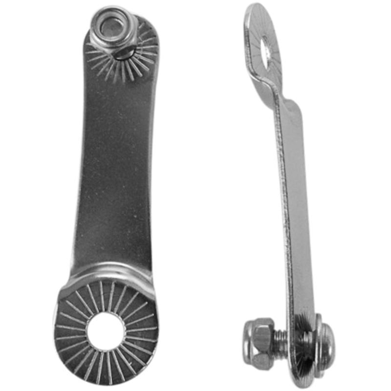 Fender Mount for Eyeless Frames-Pair Silver