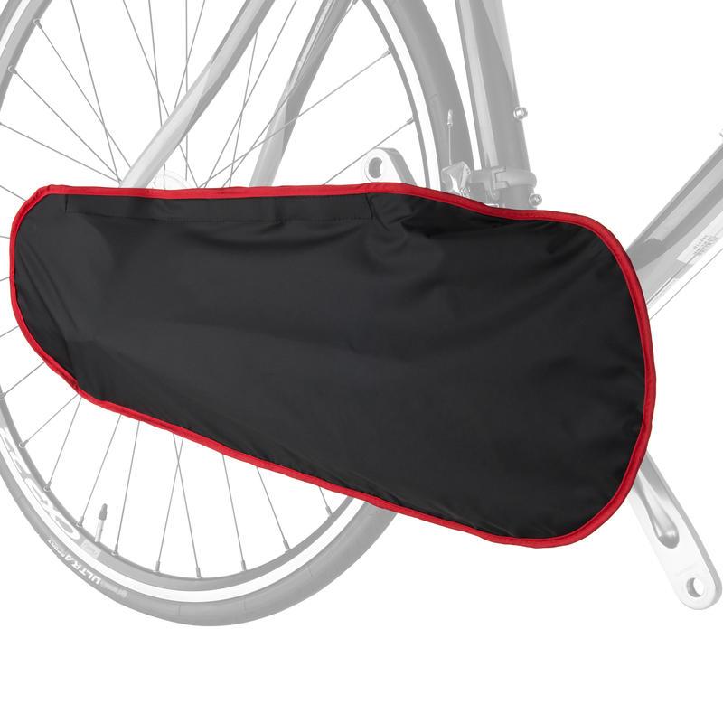 Housse pour chaîne de vélo Noir