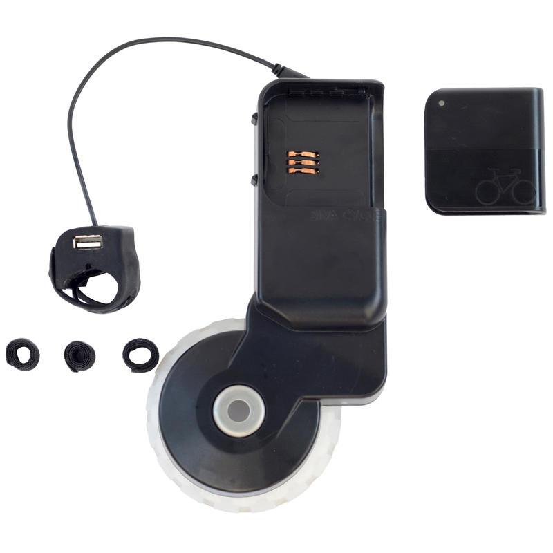 Atom USB Bicycle Generator Black