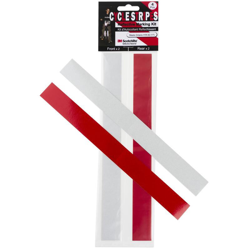 Cycle Stripes Scotchlite Sticker Kit (Ontario)