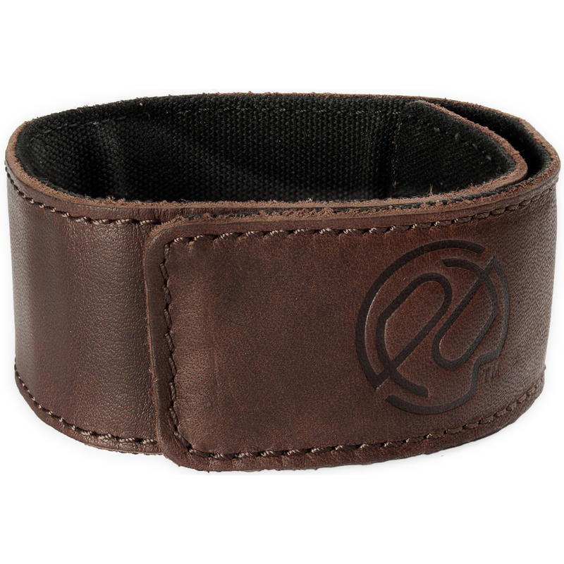 Cufflink Ankle Band Dark Leather