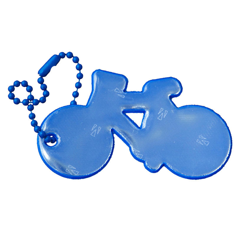Safety Reflector - Bicycle Blue