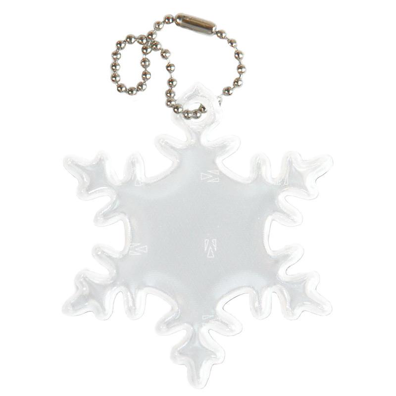 Réflecteur de sécurité - Flocon de neige Blanc