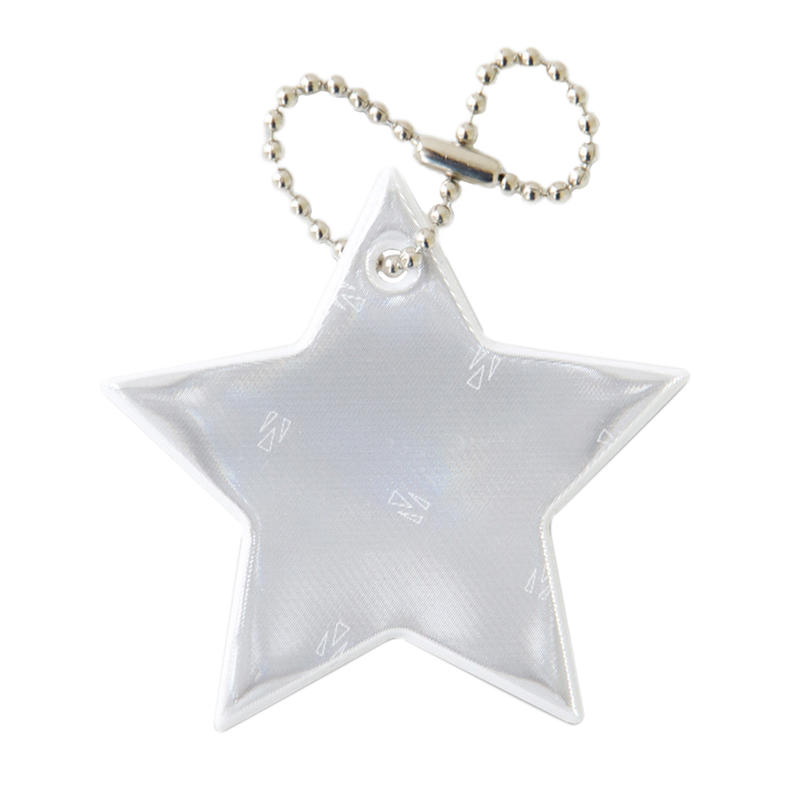 Safety Reflector - Star White