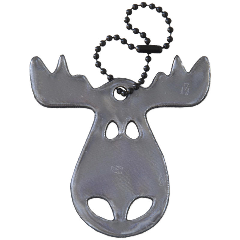 Safety Reflector - Moose Black