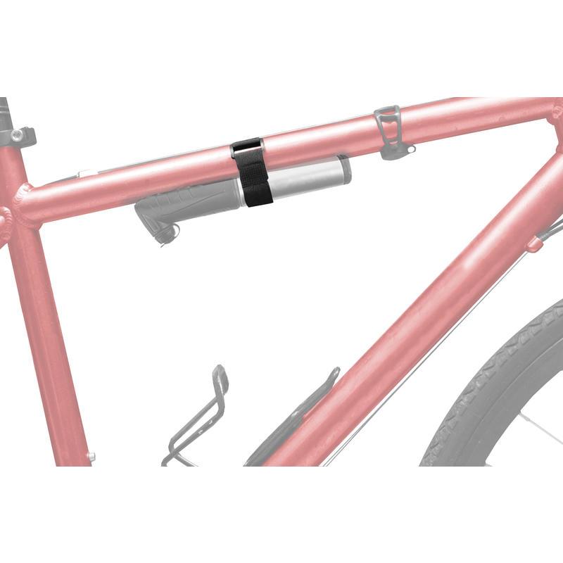 Sangles de fixation pour pompe à vélo Noir