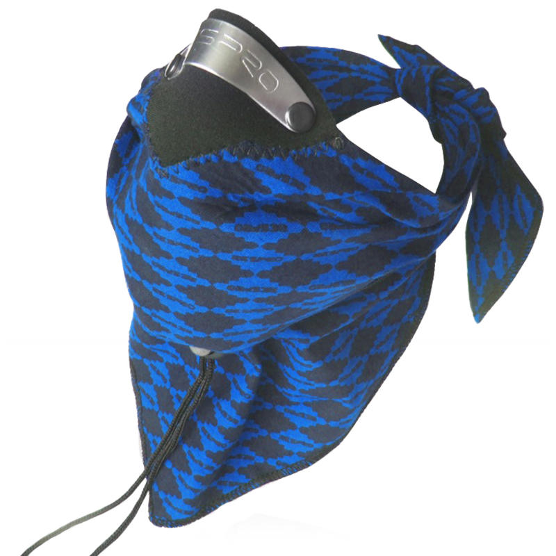 Bandit Scarf Blue Diamond