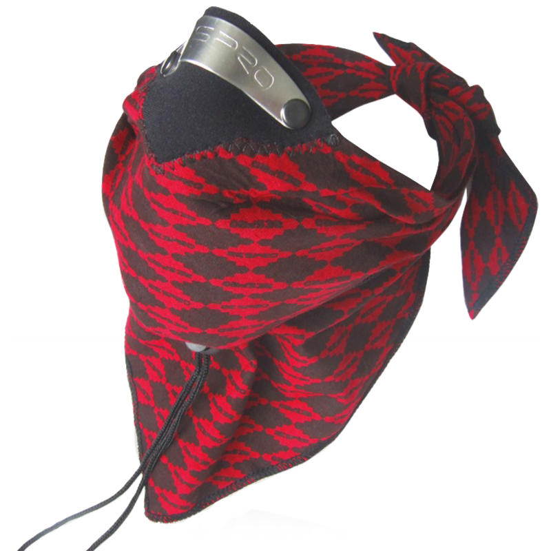 Bandit Scarf Red Diamond
