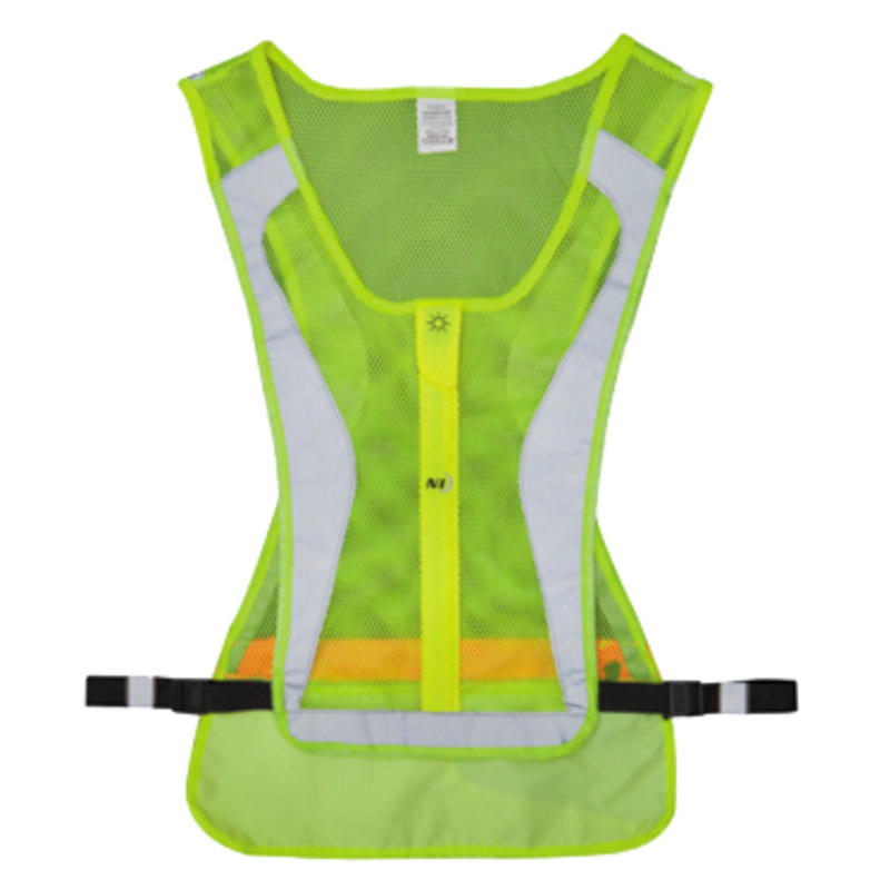 LED Run Vest Lime