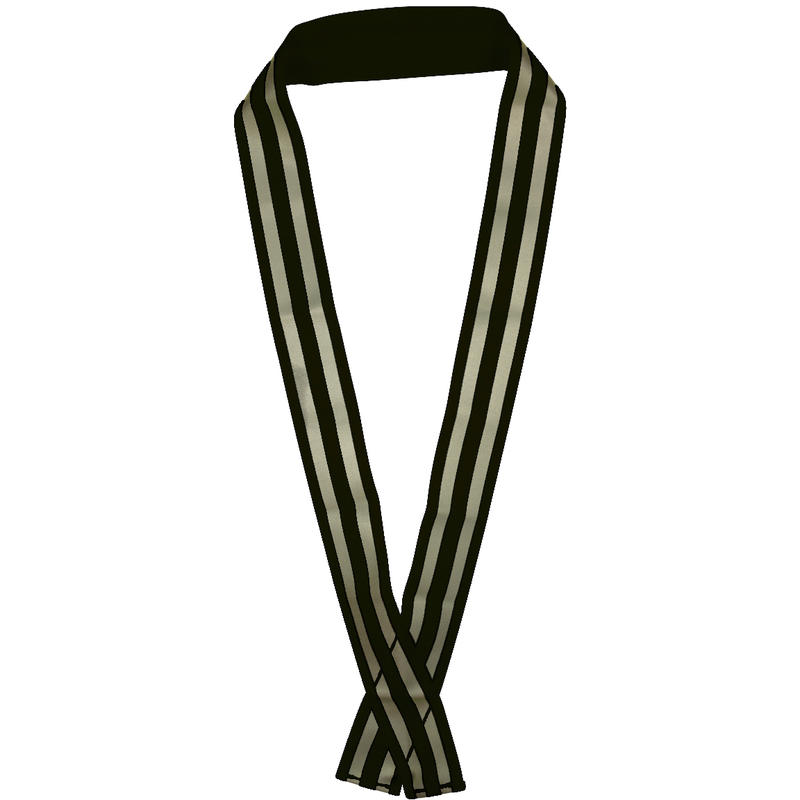 Safety Sash - Unisex Black