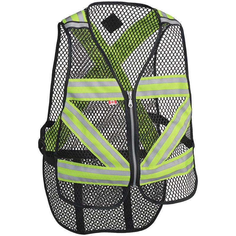 Veste de sécurité pour le vélo Lime