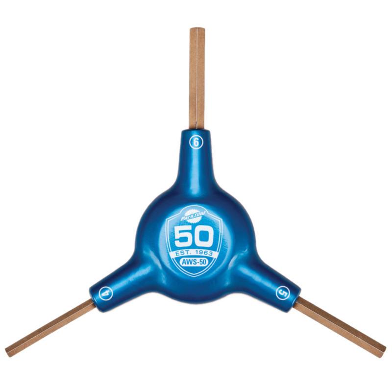 Clé hexagonale triple 50e anniversaire AWS-50