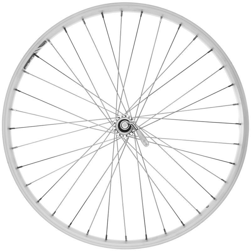 X101 26x1.75 36H 7/8Spd QR Rear Wheel Silver/Silver