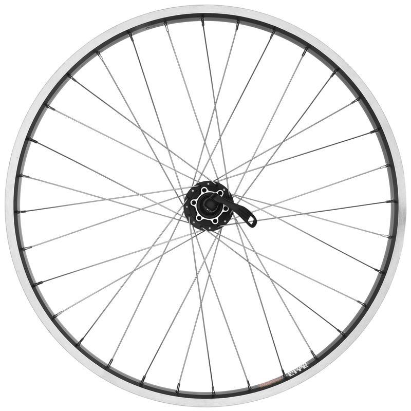 "Rhyno Lite 26x1.75"" 32H QR Disc Front Wheel Black/Black"