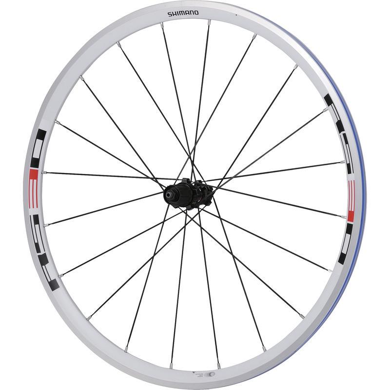 Roues de vélo WH-RS30 700C (8/9/10 vit.) Blanc