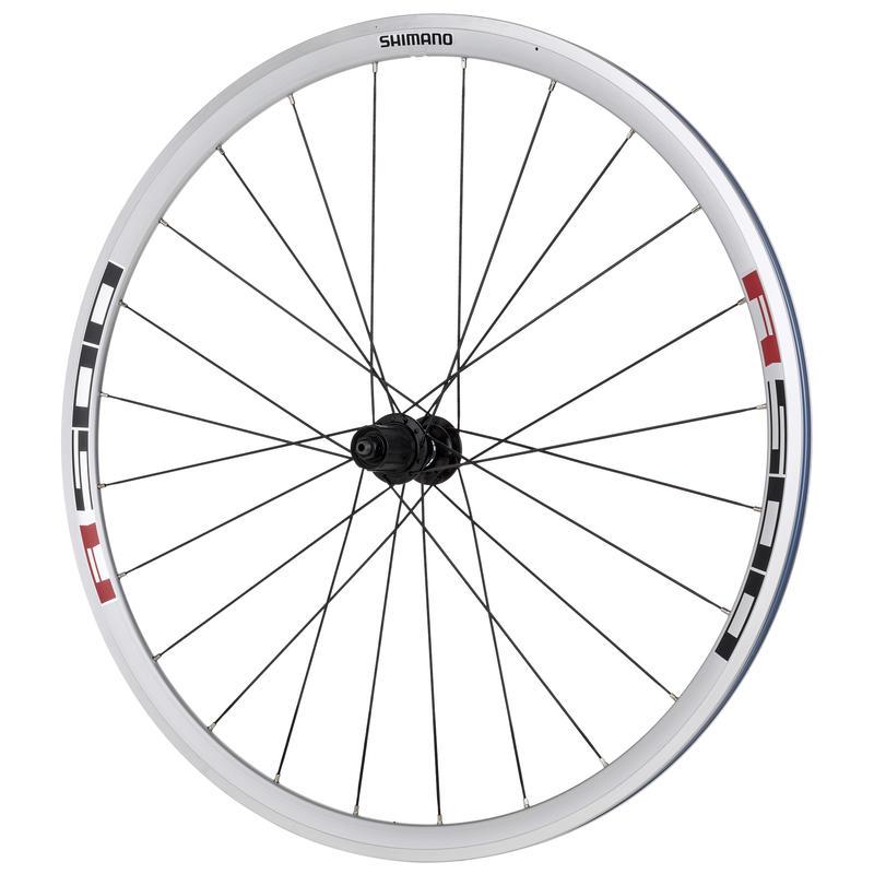 WH-R501 700C Wheel Set 8/9/10 Speed Silver