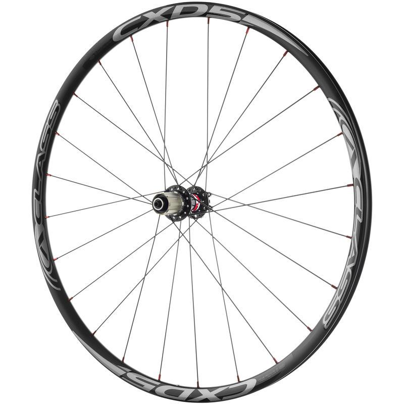 Roues de vélo CXD5 700C à 24 trous Noir