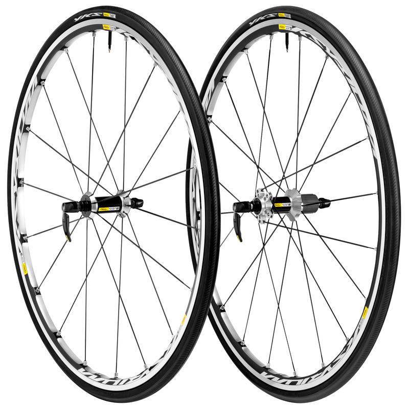 Ksyrium Elite S Wheelset w/ Yksion Tires Black/Silver