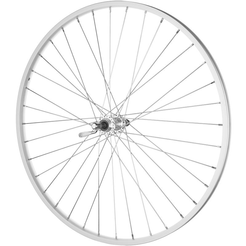 "C303 27"" 36H Freewheel QR Rear Wheel Silver"