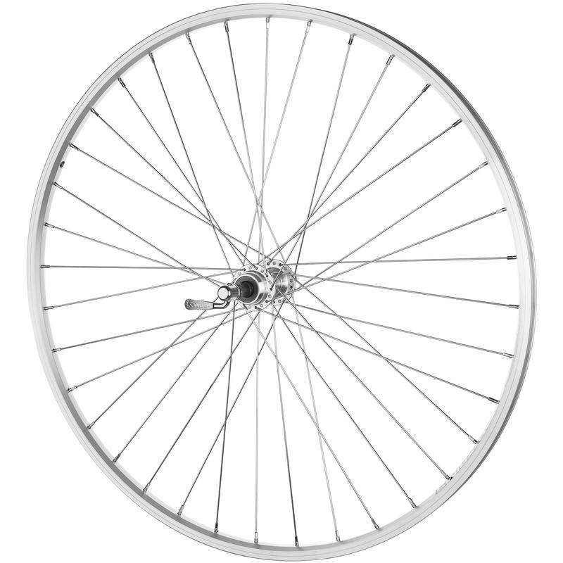 DM-18 700C 36H Freewheel QR Rear Wheel Silver