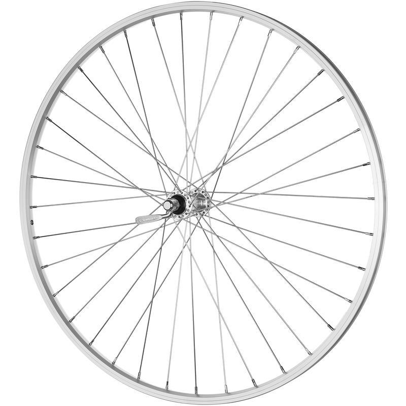 DM-18 700C 36H QR Front Wheel Silver