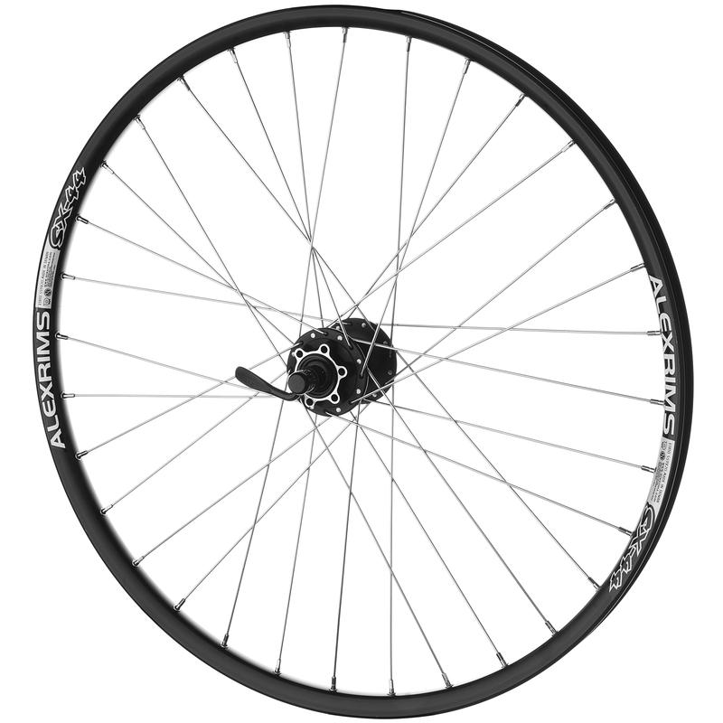 "SX-44 26"" 32H QR Front Wheel Black"