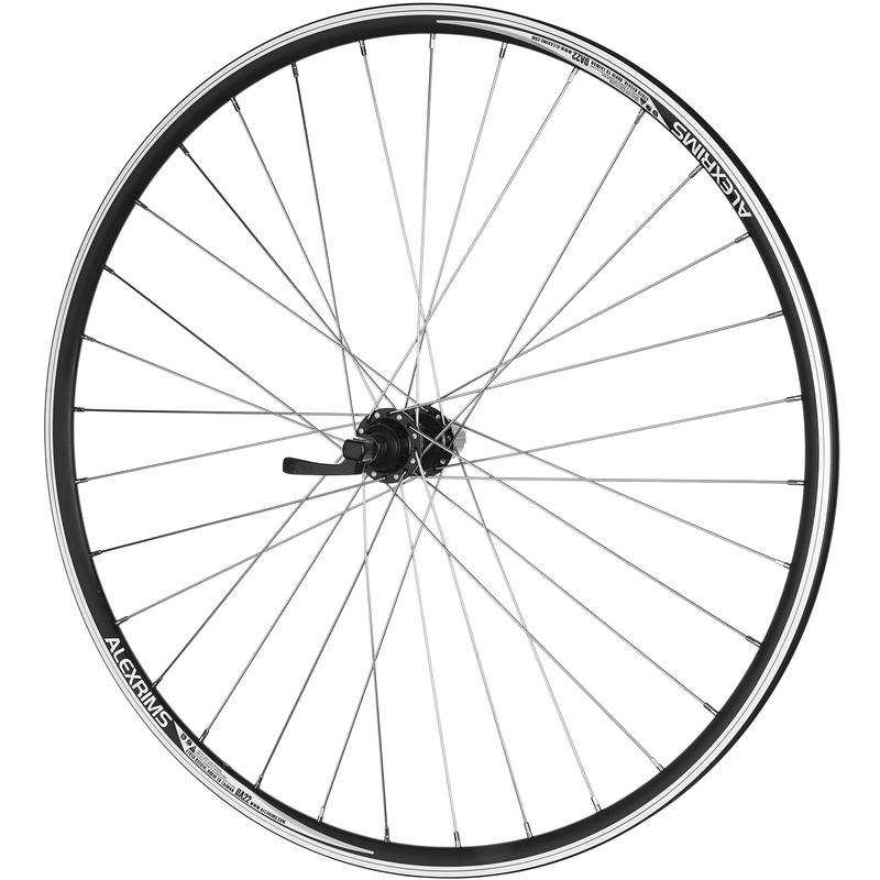 DA-22 700C 32H 8/9 Speed QR Rear Wheel Black