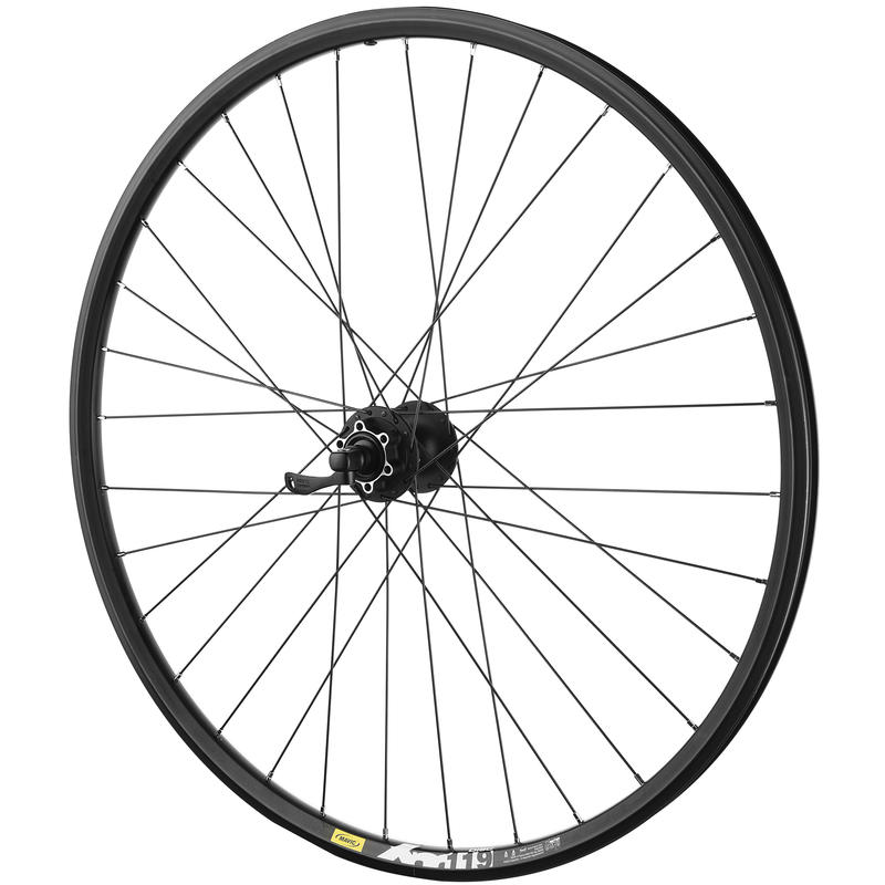 "TN119 29"" 32H QR Front Wheel Black"