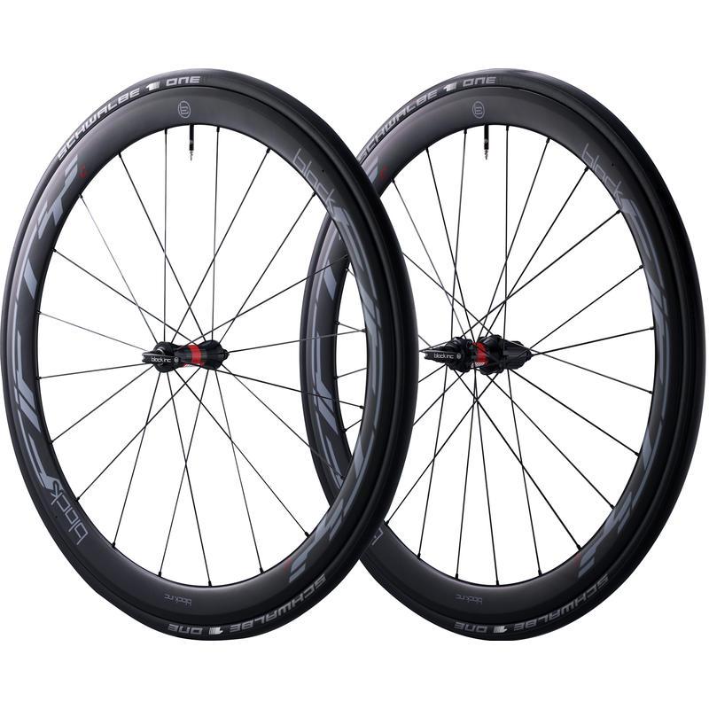 Black FiftyC 45mm Carbon Wheel Set(DT Swiss Hubs) Black
