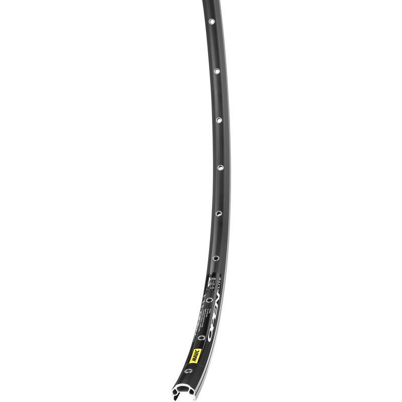 Open Sport 700C 32H Rear Wheel Black