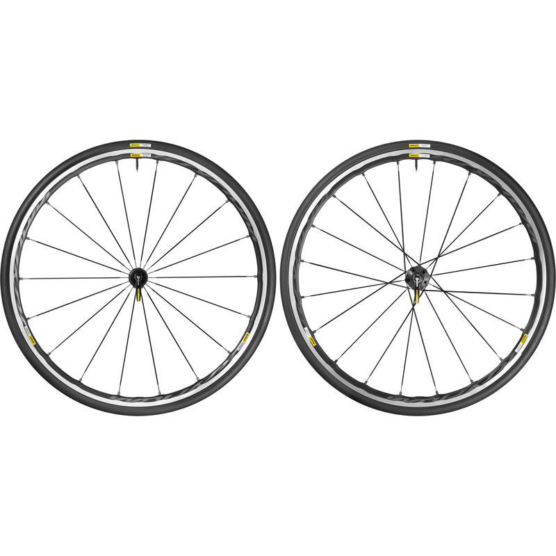Ksyrium Elite Wheelset w/ Yksion Pro Tires Black