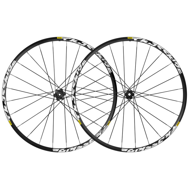 "Crossride 29"" Wheelset Black"