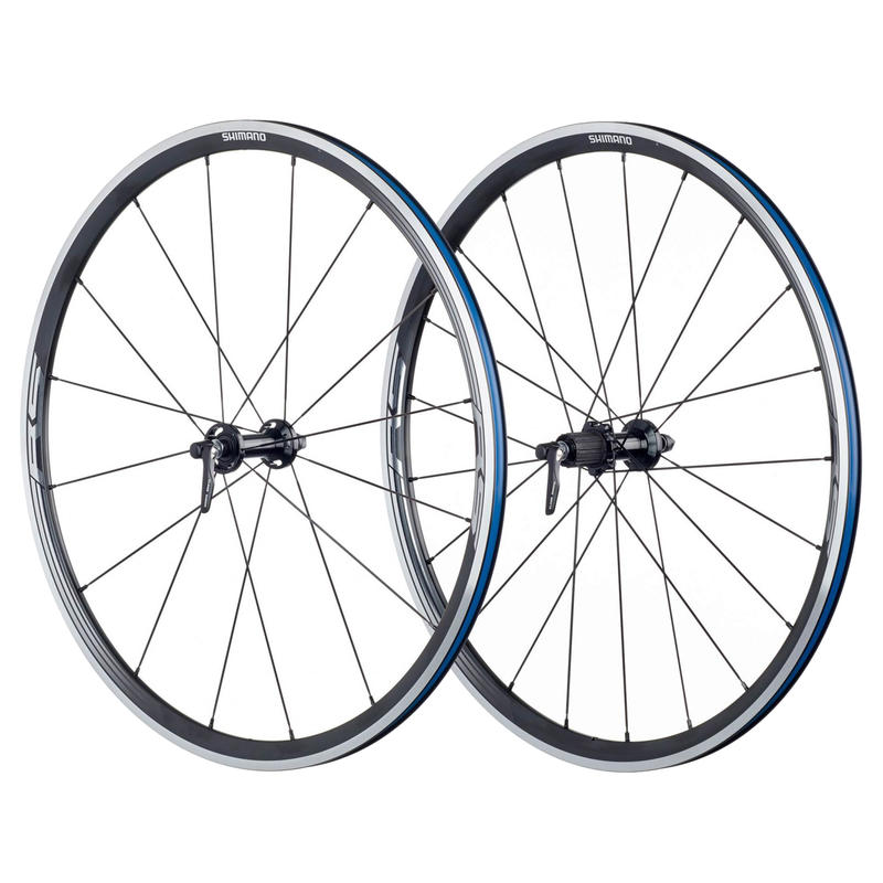 Roues WH-RS330 700C (10/11 vitesses) Argent/Noir