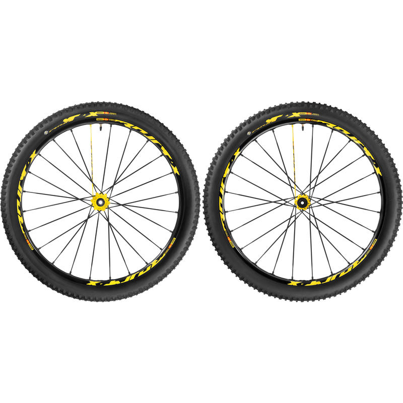 "Crossmax XL Pro LTD WTS 27.5"" Yellow"