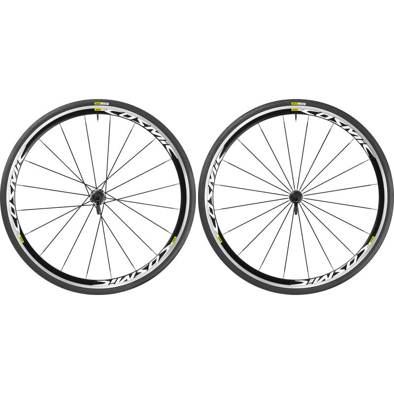 Cosmic Elite Wheelset w/ Yksion Elite Tires