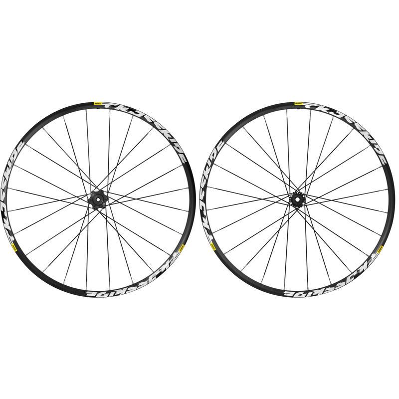 "Crossride 27.5"" Wheelset Black"