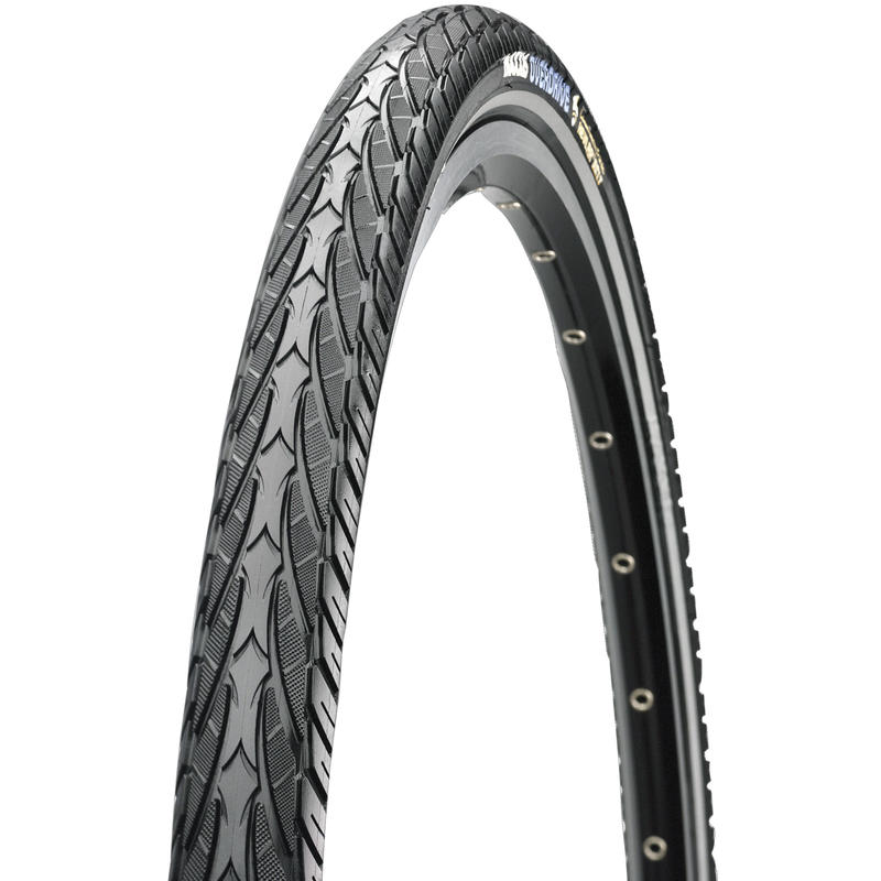 Overdrive 700 x 38 Wire Tire Black