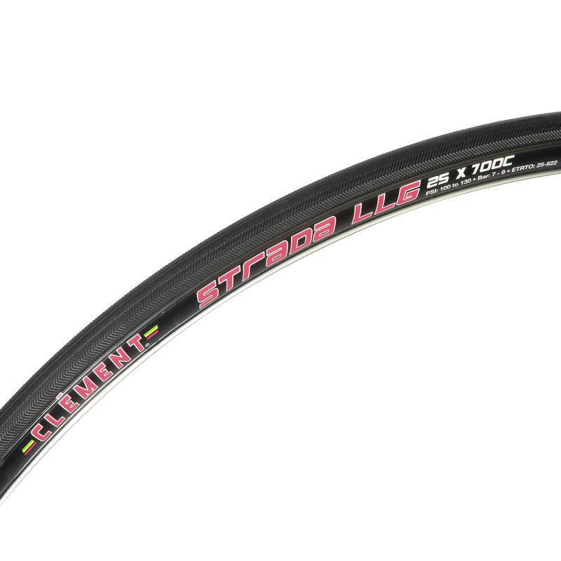 Pneu de vélo pliable Strada LGG 700 Noir
