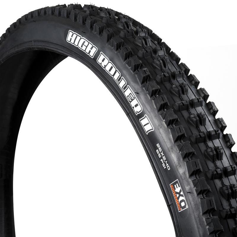 High Roller II 26 x 2.4 EXO Folding Tire Black