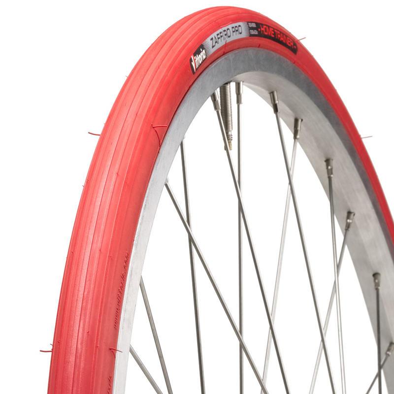 Zaffiro Pro Home Trainer 700 Folding Tire Red