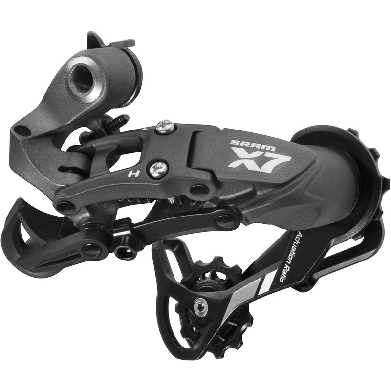 X7 Rear Derailleur 9 Speed Long Cage Grey