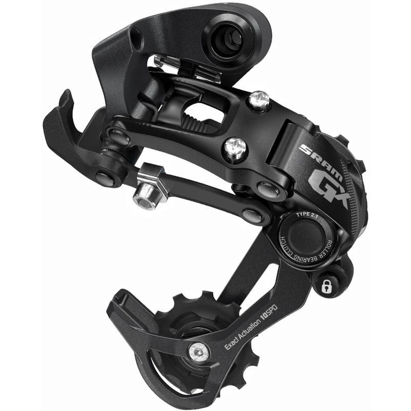 GX Type 2.1 10 Speed Rear Derailleur Black
