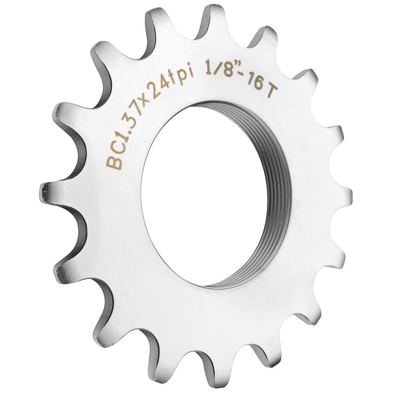 Pignon de vélo fixe 16 dents Argent