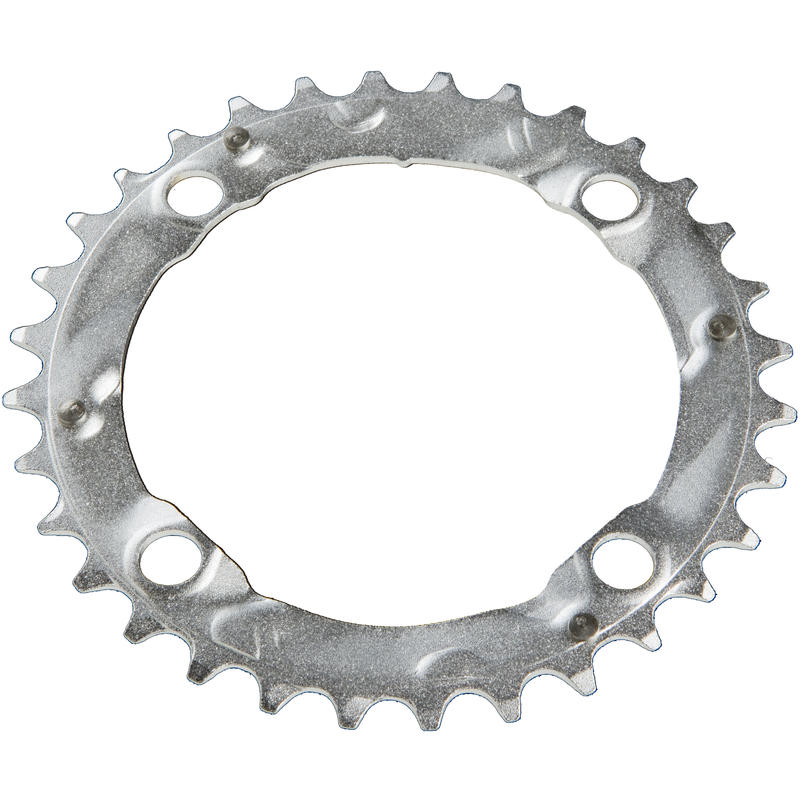 Ride Steel Chainring (104mm BCD, 4-Bolt) Silver