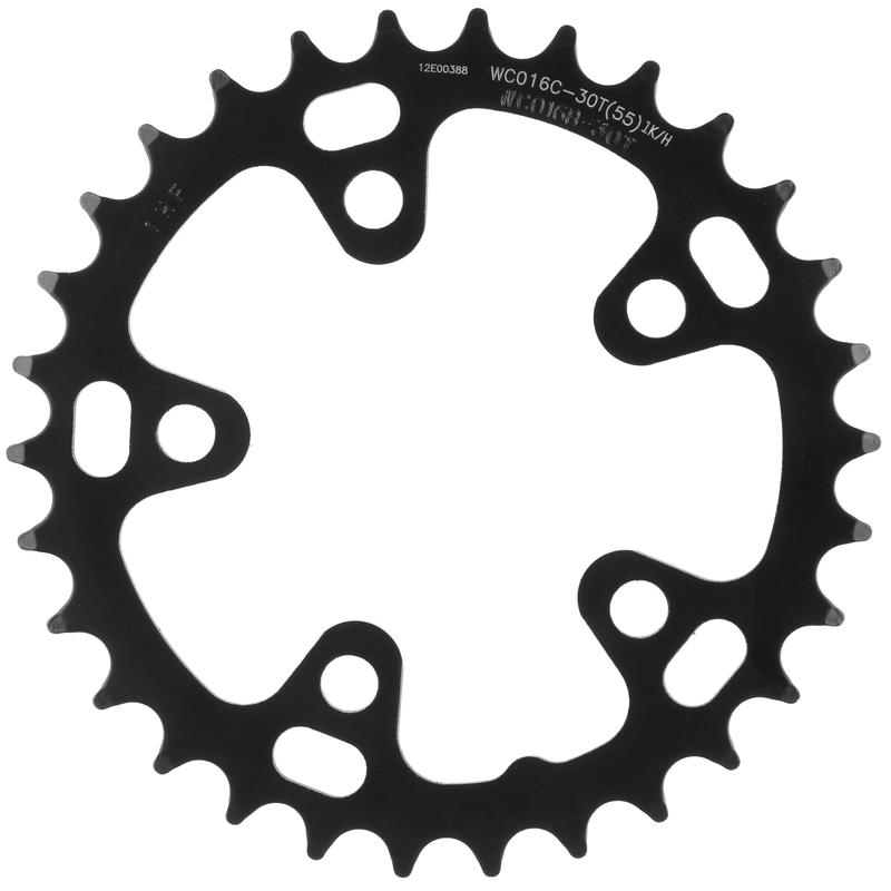 Steel Road Chainring (74mm/5-Bolt) Black