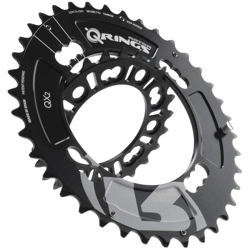QX2 Chainring (104x4) Black