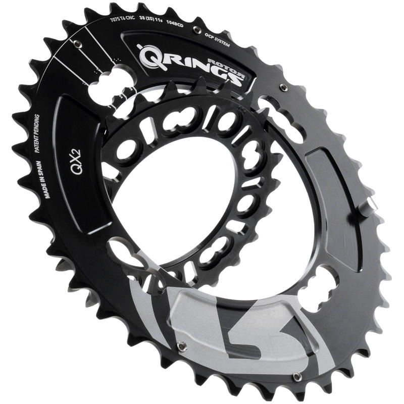 QX2 Chainring (64x4) Black