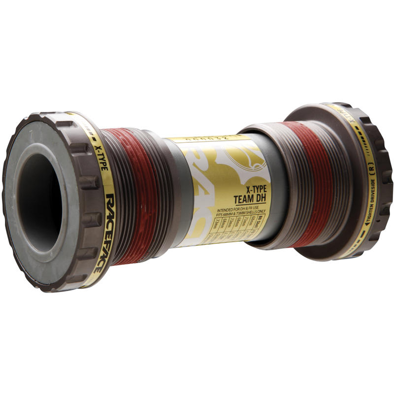 X-Type Team DH Bottom Bracket Gold/Grey